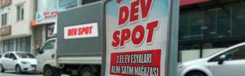 DEV SPOT ÇORLU İKİNCİ EL EŞYA